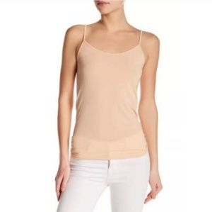 New Vince small camisole wool blend khaki top